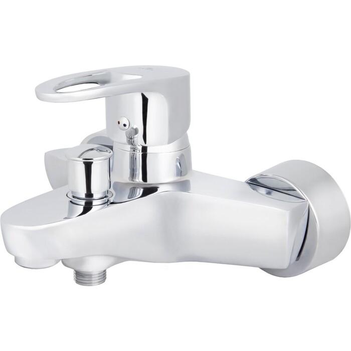 Смеситель для ванны Kaiser Luxor короткий излив без душа, хром (32022)