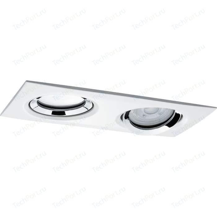 Точечный поворотный светильник Paulmann 92902 точечный поворотный светильник paulmann 98976