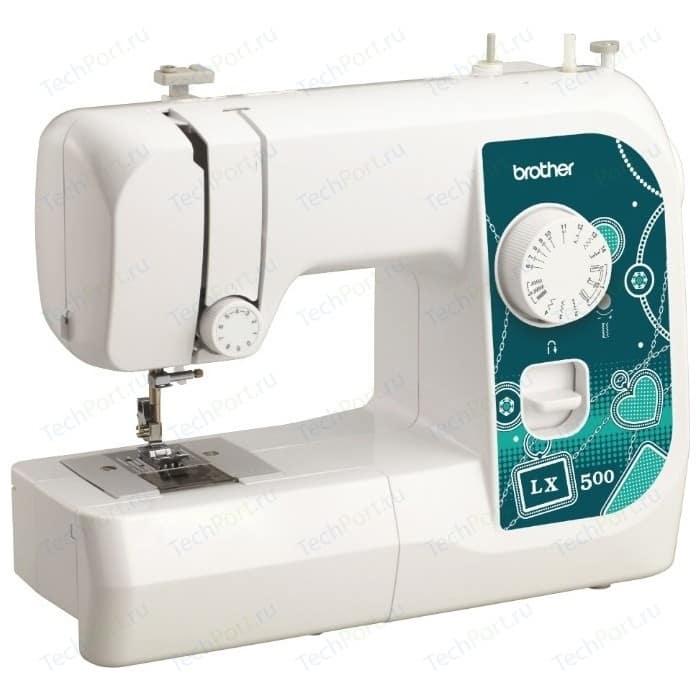 Швейная машина Brother LX-500 швейная машина brother lx 1400s белый