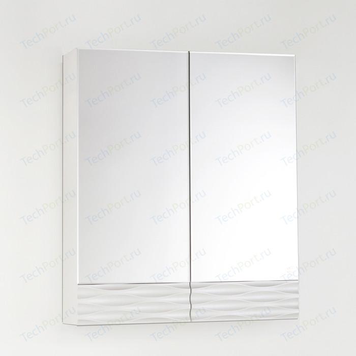 Зеркальный шкаф Style line Ассоль 60 техно платина (4650134470505)