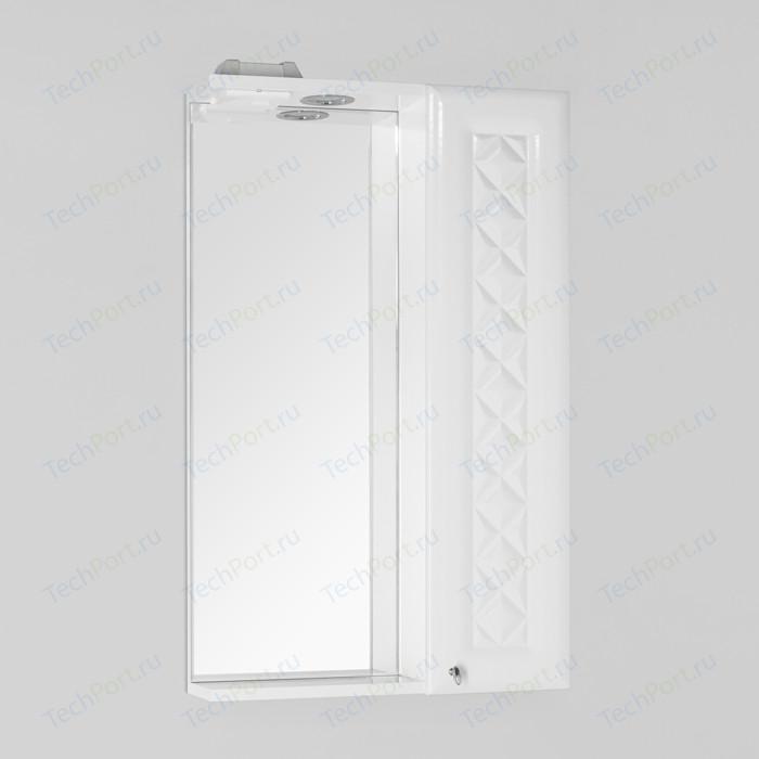 Зеркало-шкаф Style line Канна Люкс 50 с подсветкой, белый (4650134470734)
