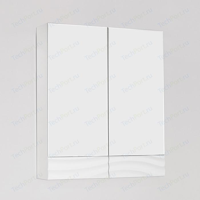 Зеркальный шкаф Style line Вероника 60 белый (4650134470581)