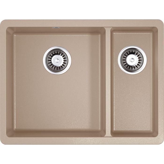 Кухонная мойка Omoikiri Kata 55-2-U-SA бежевый (4993421)