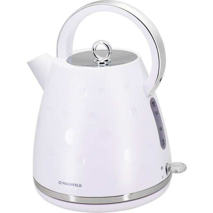 Фото - Чайник электрический MAUNFELD MFK-647WH чайник электрический maunfeld mfk 622ch