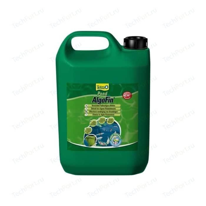 Препарат Tetra Pond AlgoFin Effectively Treats Blanket Weed для эффекивной борьбы с нитчатыми водорослями в пруду 3л