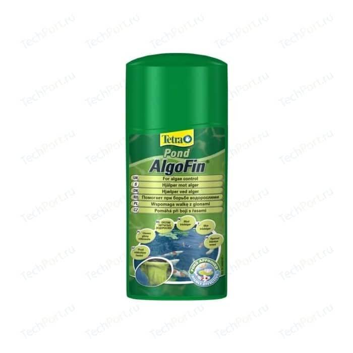 Препарат Tetra Pond AlgoFin Effectively Treats Blanket Weed для эффекивной борьбы с нитчатыми водорослями в пруду 500мл
