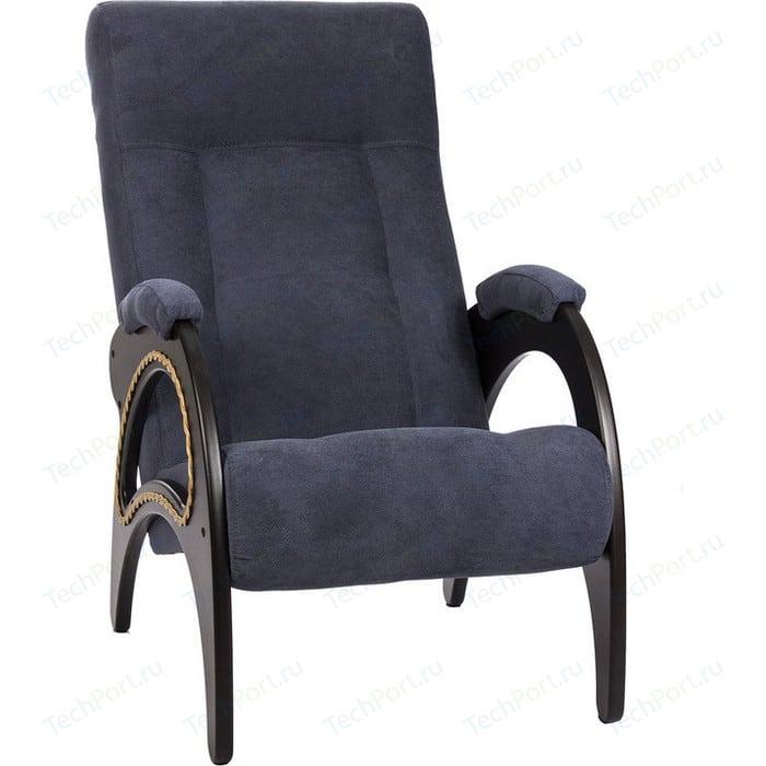 Кресло для отдыха Мебель Импэкс МИ Модель 41 венге, обивка Verona Denim Blue