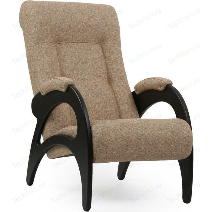 Кресло для отдыха Мебель Импэкс МИ Модель 41 б/л венге, обивка Malta 03