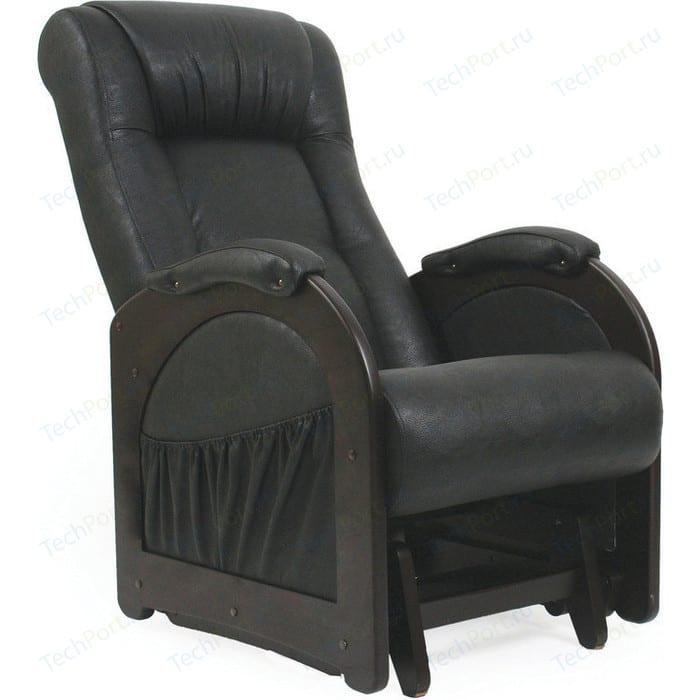 Фото - Кресло-качалка глайдер Мебель Импэкс МИ Модель 48 венге без лозы, обивка Dundi 109 кресло качалка мебель импэкс ми модель 4 б л венге обивка dundi 112