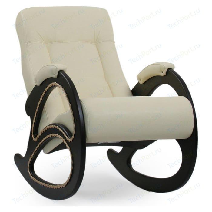 Кресло-качалка Мебель Импэкс МИ Модель 4 венге, обивка Dundi 112