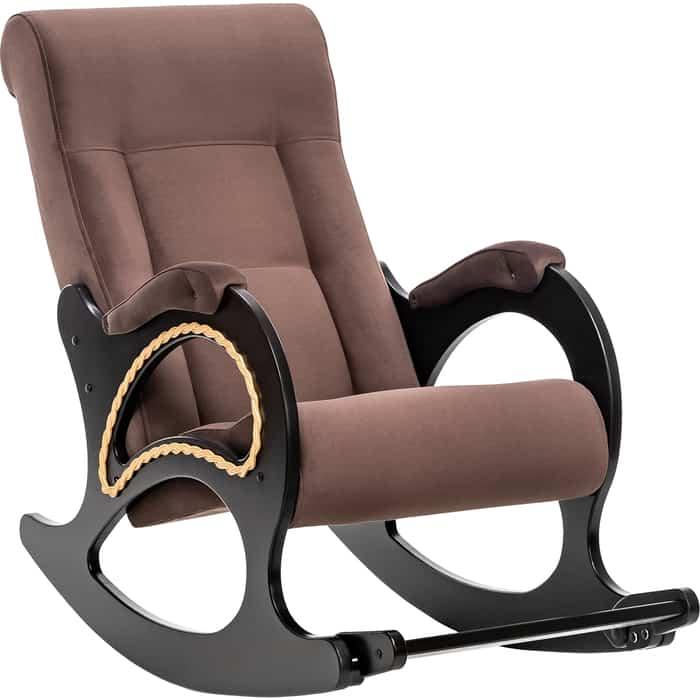 Кресло-качалка Мебель Импэкс МИ Модель 44 венге, обивка Verona Brown