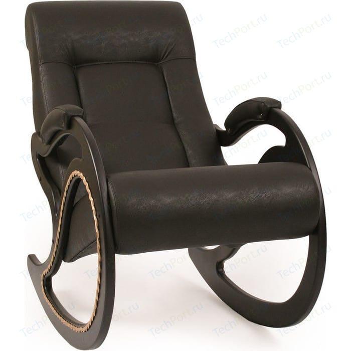 Кресло-качалка Мебель Импэкс МИ Модель 7 венге, обивка Dundi 108 кресло алвест av 108 pl 727 mk ткань 415 серая с черной ниткой