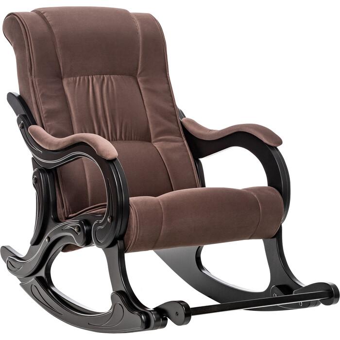 Кресло-качалка Мебель Импэкс МИ Модель 77 венге, обивка Verona Brown