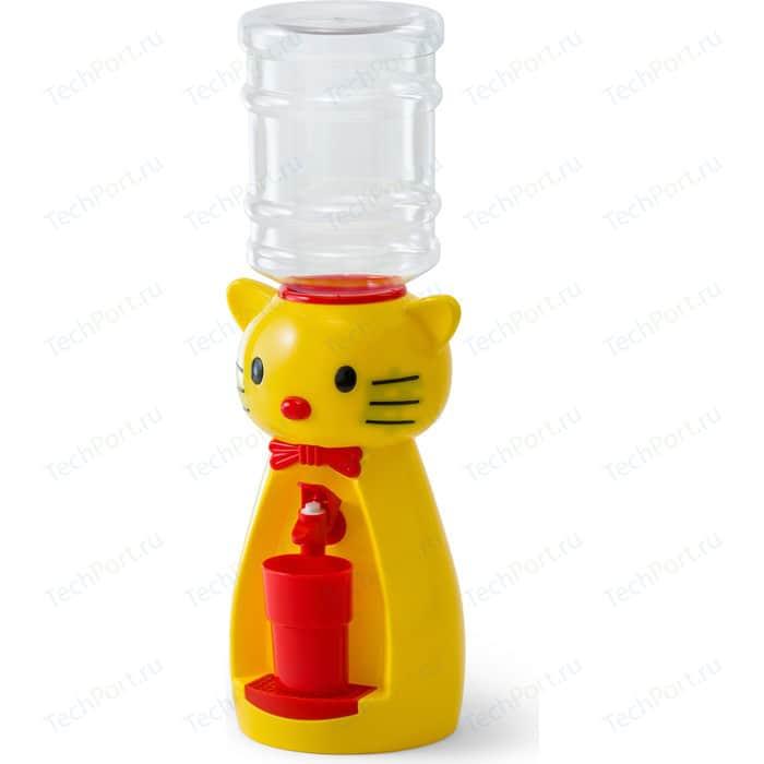Кулер для воды VATTEN kids Kitty Yellow (со стаканчиком)