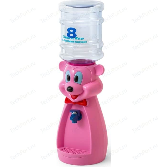 Кулер для воды VATTEN kids Mouse Pink (без стаканчика)