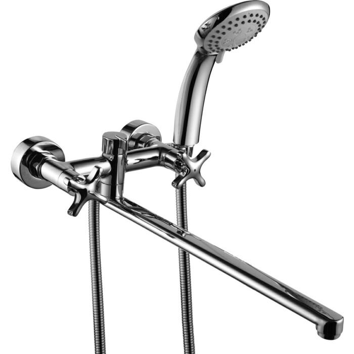 Смеситель для ванны Rossinka с длинным изливом (RS39-84)