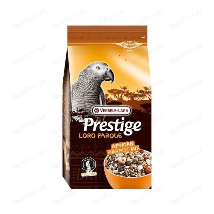 Корм VERSELE-LAGA Prestige Loro Parque African Parrot Mix для крупных африканских попугаев 1кг