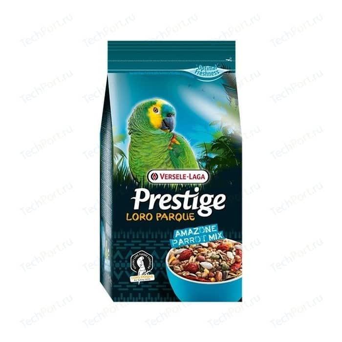 Корм VERSELE-LAGA Prestige Loro Parque Amazone Parrot Mix для амазонских крупных попугаев 1кг