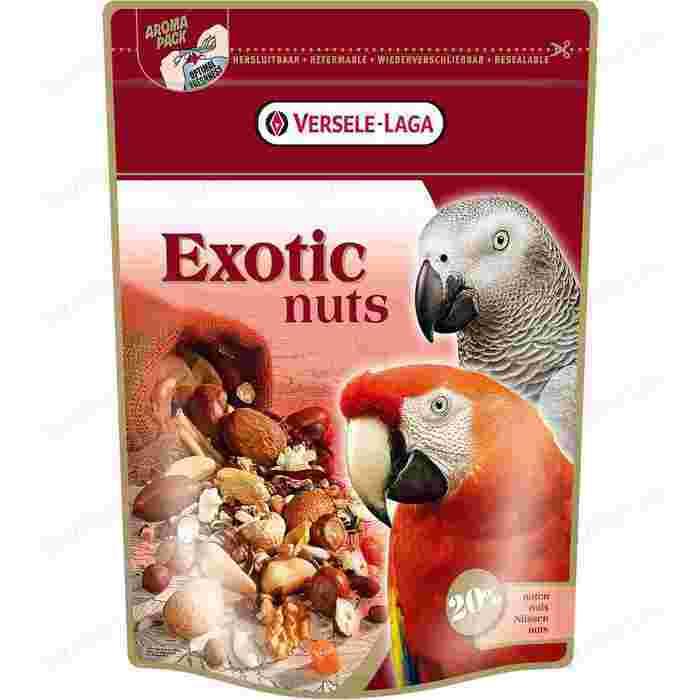 Лакомство VERSELE-LAGA Exotic Nuts с орехами для крупных попугаев 750г