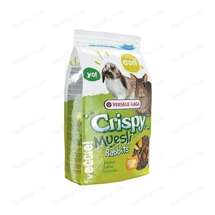 Корм VERSELE-LAGA Crispy Muesli Rabbits для кроликов 2,75кг