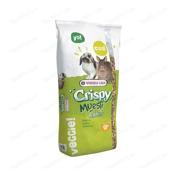 Корм VERSELE-LAGA Crispy Muesli Rabbits для кроликов 20кг