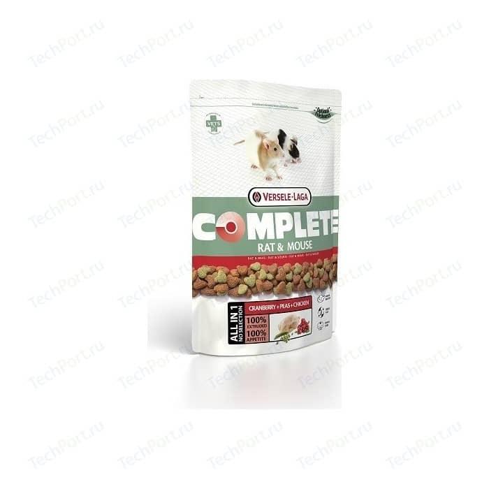 Корм VERSELE-LAGA Complete Rat & Mouse Cranberry + Peas Chicken с клюквой, горохом и курицей для крыс мышей 500г