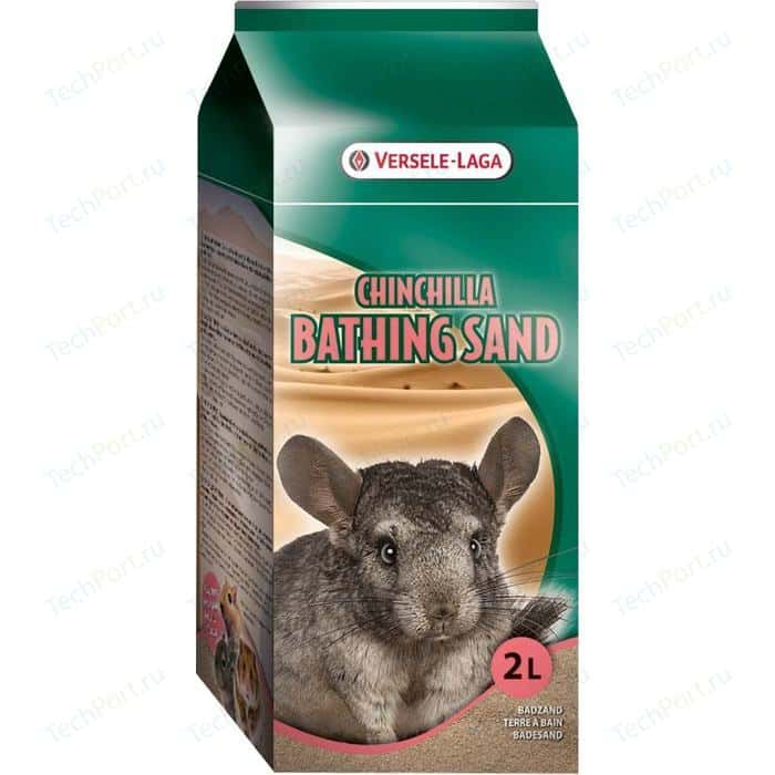 Песок VERSELE-LAGA Chinchilla Bathing Sand для купания шиншилл 20кг