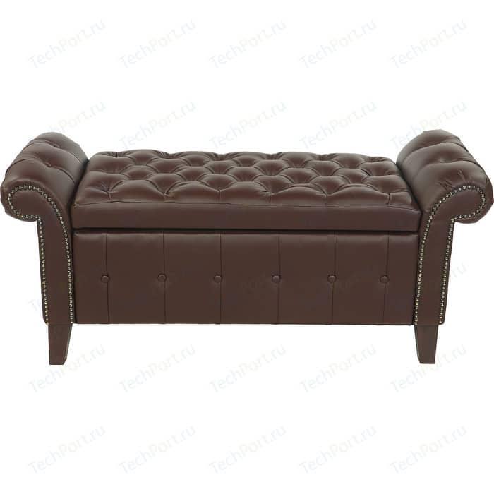 Фото - Банкетка Мебельстория Беркли-1 коричневый банкетка мебельстория луна коричневый