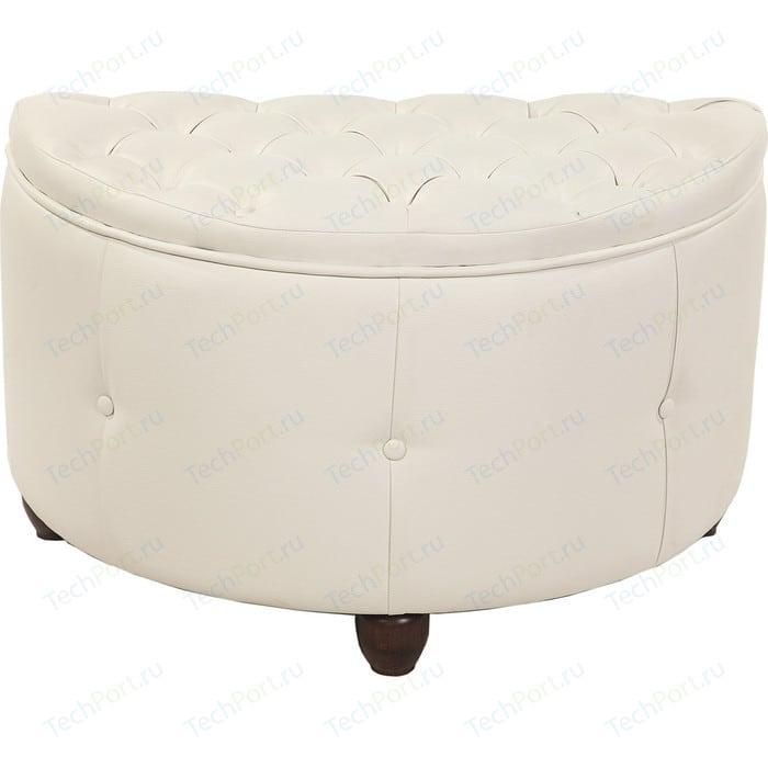 Фото - Банкетка Мебельстория Луна белый банкетка мебельстория луна коричневый