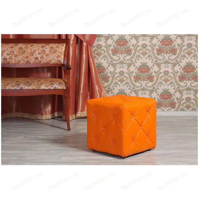Пуф Мебельстория Ромби-1 оранжевый