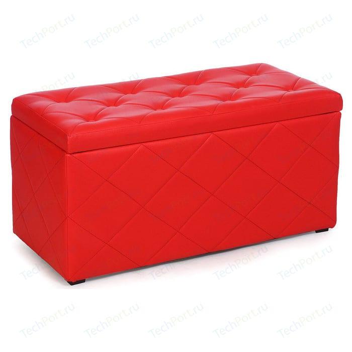 Пуф Мебельстория Ромби-3 красный