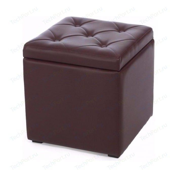 Пуф Мебельстория Тони-2 коричневый пуф euroson тони 3 коричневый