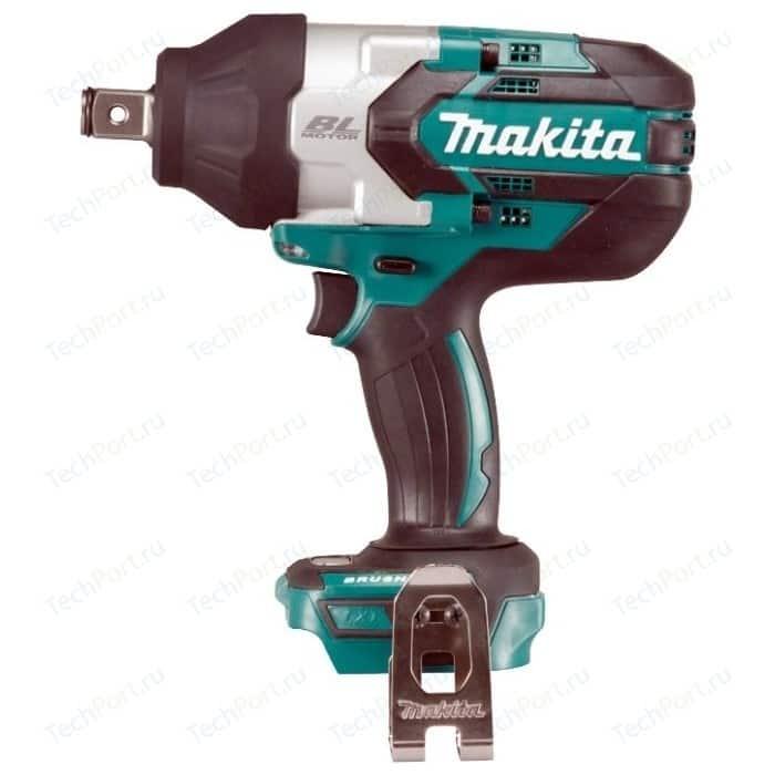 Гайковерт ударный аккумуляторный Makita DTW1001Z аккумуляторный ударный гайковерт metabo ssd 18 lt 602196850