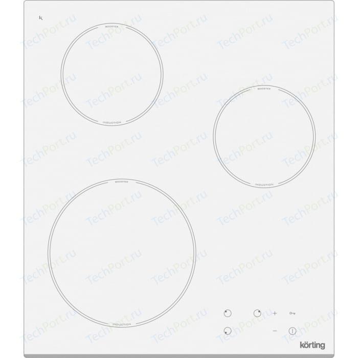 Индукционная варочная панель Korting HI 42031 BW