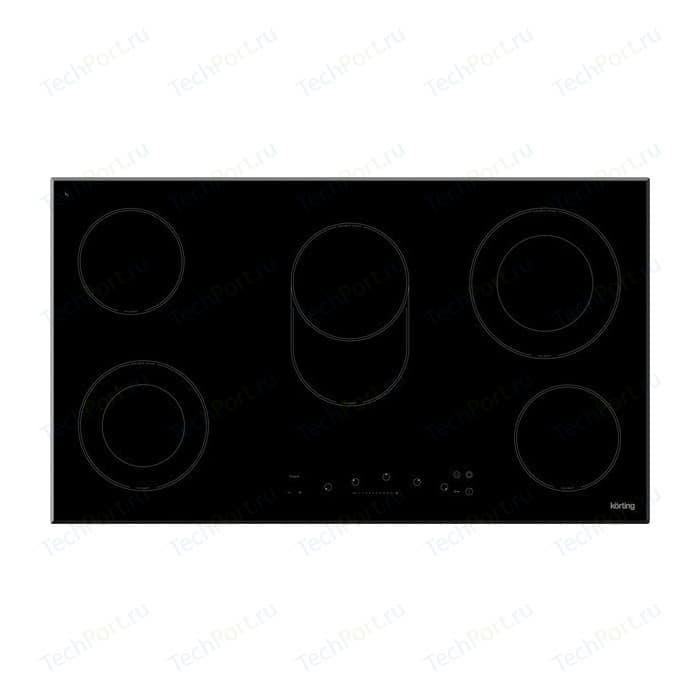 Электрическая варочная панель Korting HK 93551 B варочная панель korting hk 63552 b