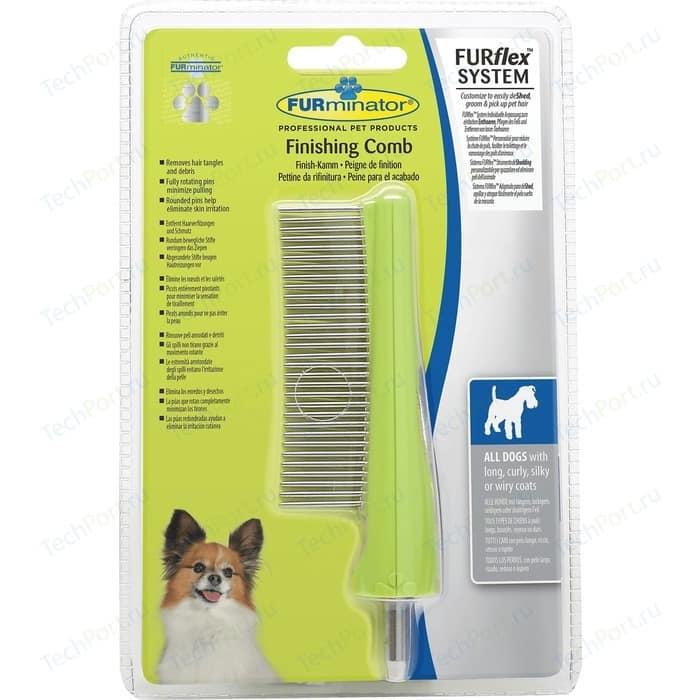 Расческа-насадка FURminator FURflex Finishing Comb All Dogs для собак с любой длиной шерсти