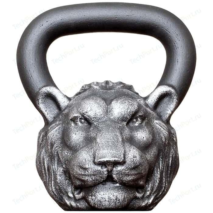 Дизайнерская гиря Iron Head Лев 16,0 кг
