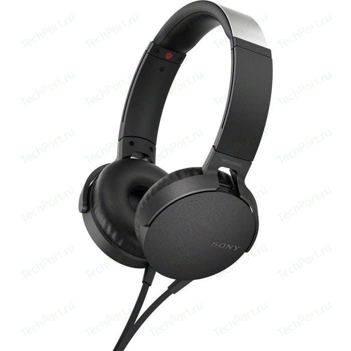 Наушники Sony MDR-XB550AP black