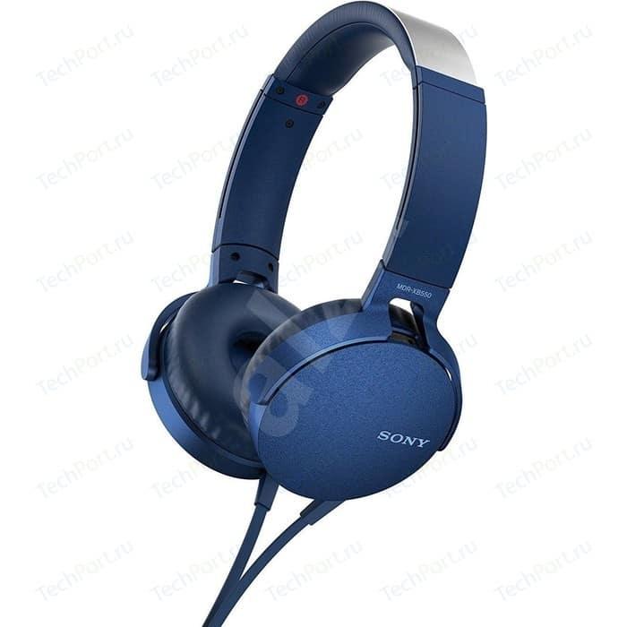 Фото - Наушники Sony MDR-XB550AP blue наушники sony mdr xb550ap green