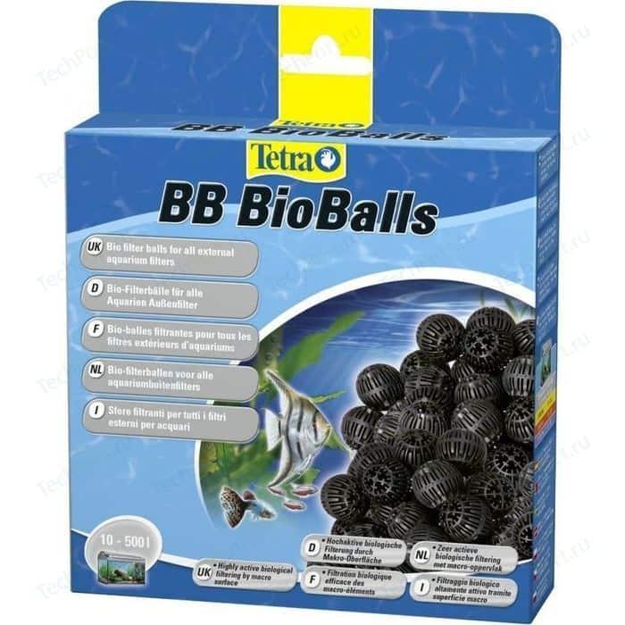 Наполнитель Tetra BB BioBalls Bio Filter for All External Aquarium Filters био-шары для внешних аквариумных фильтров 800мл