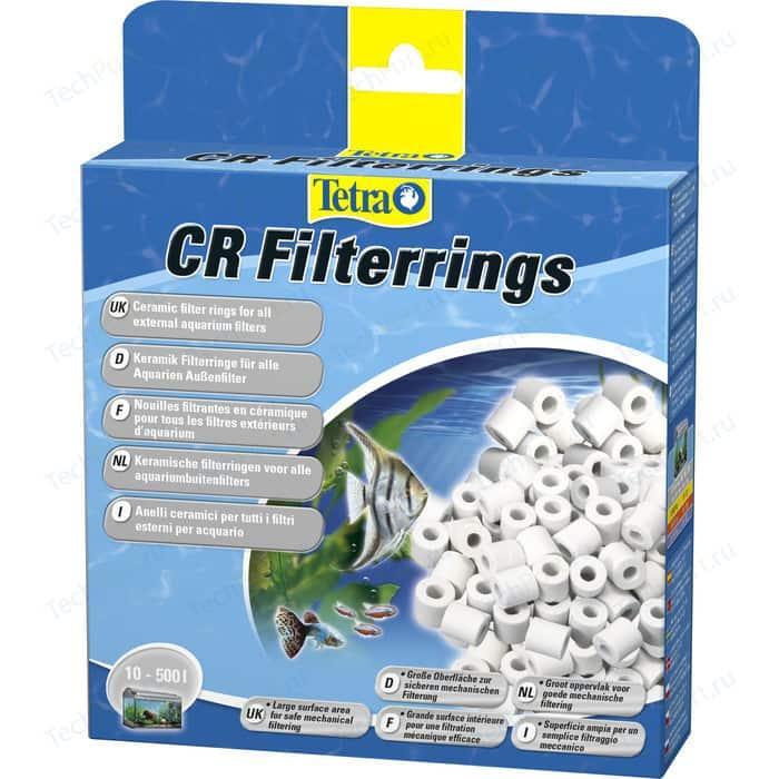 Наполнитель Tetra CR Filterrings Ceramic Filter Rings for All External Aquarium Filters керамика для внешних фильтров 800мл