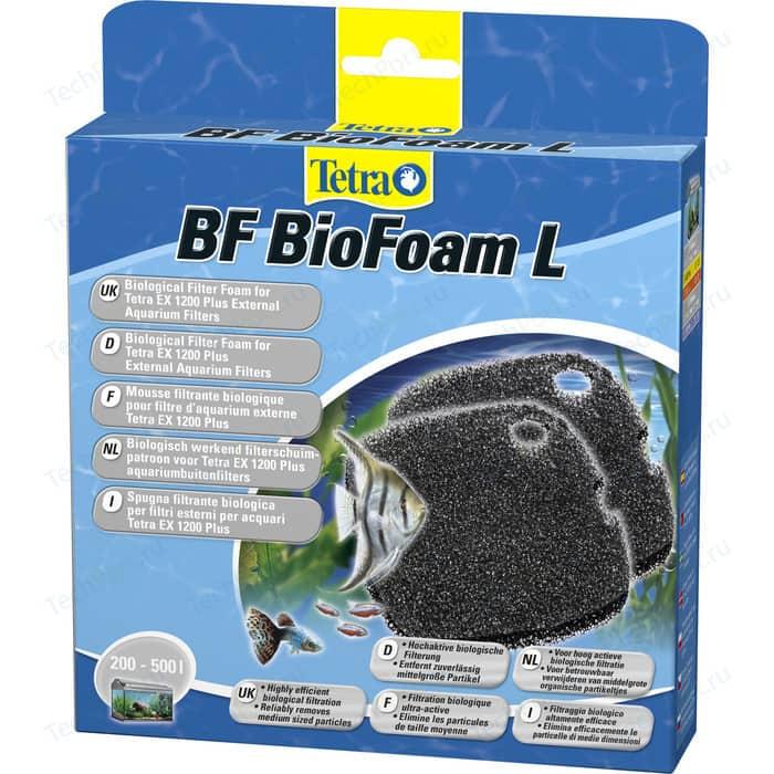 Губка Tetra BF BioFoam L Biological Filter Foam for EX 1200 био-фильтрации для внешнего фильтра 2шт