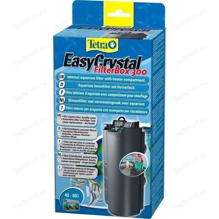 Фильтр Tetra EasyCrystal 300 Filter Box Internal Aquarium with Heater Compartment внутренний с обогревателем для аквариумов 40-60л