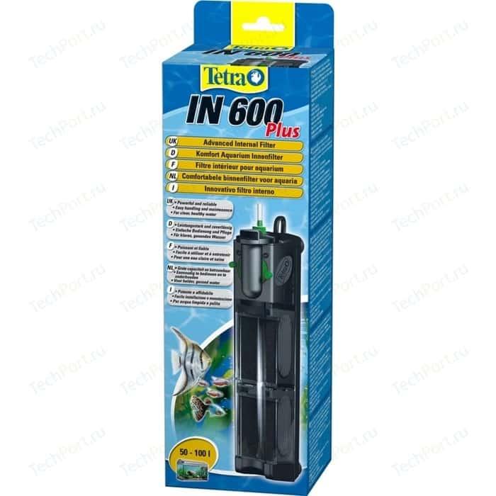 Фильтр Tetra IN 600 Plus Advanced Internal Filter внутренний для аквариумов до 100л