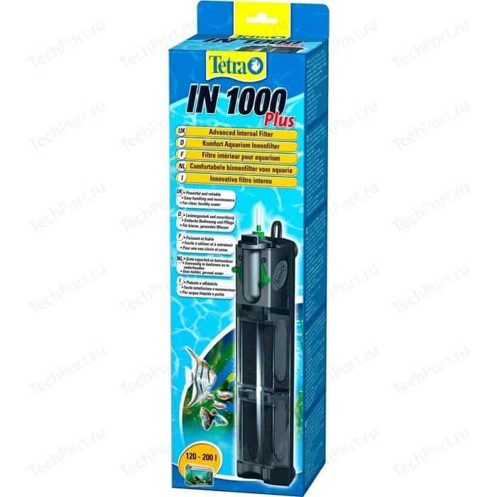 Фильтр Tetra IN 1000 Plus Advanced Internal Filter внутренний для аквариумов до 200л