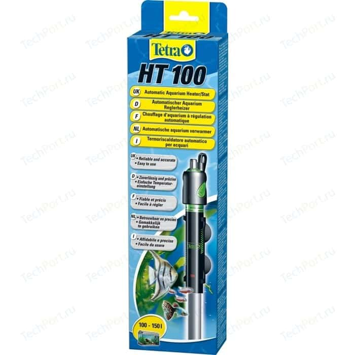 Терморегулятор Tetra HT 100 Automatic Aquarium Heater/Stat 100Bт для аквариумов 100-150л