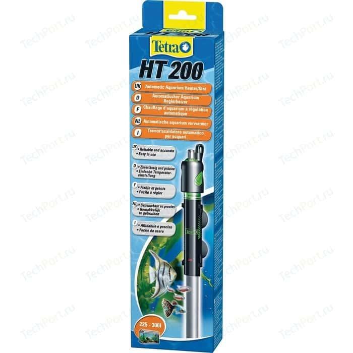 Терморегулятор Tetra HT 200 Automatic Aquarium Heater/Stat 200Bт для аквариумов 225-300л терморегулятор tetra ht 50 automatic aquarium heater stat 50вт для аквариумов 25 60л