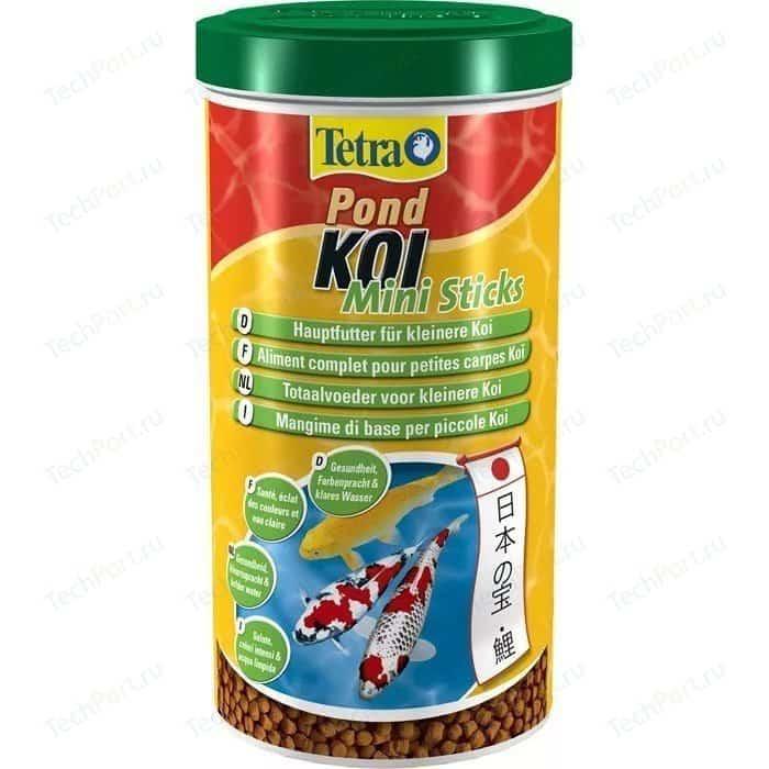 Корм Tetra Pond Koi Mini Sticks Premium Food for Smaller мини палочки для молоди кои 1л
