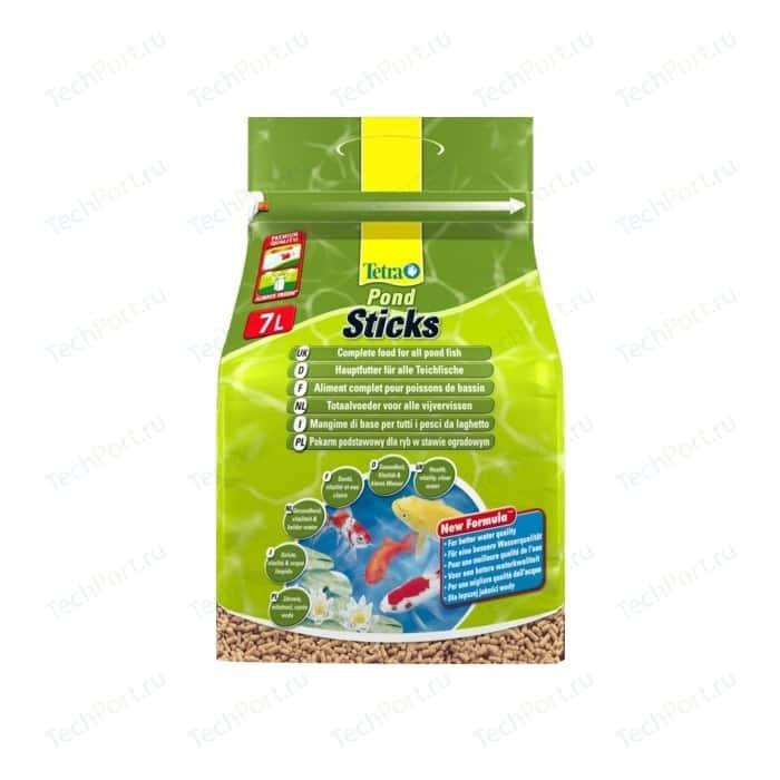 Корм Tetra Pond Sticks Complete Food for All Fish палочки для прудовых рыб 7л
