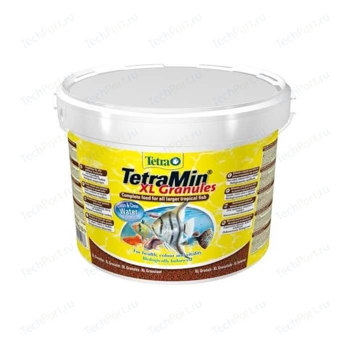 Корм Tetra TetraMin XL Granules Complete Food for Larger Tropical Fish крупные гранулы для больших тропических рыб 10л